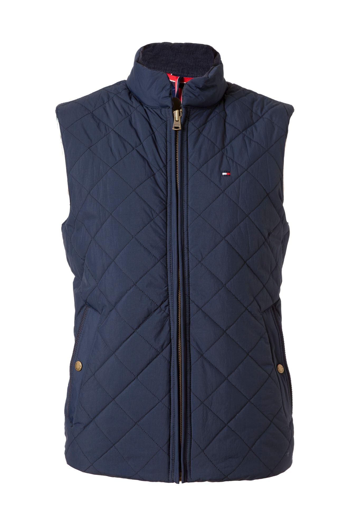 Tommy Hilfiger Quilted Browning Vest In Blue For Men Lyst