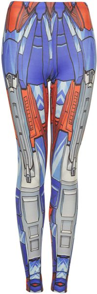 Topshop Transformer Leggings By Sugar Daddy in Multicolor (MULTI)