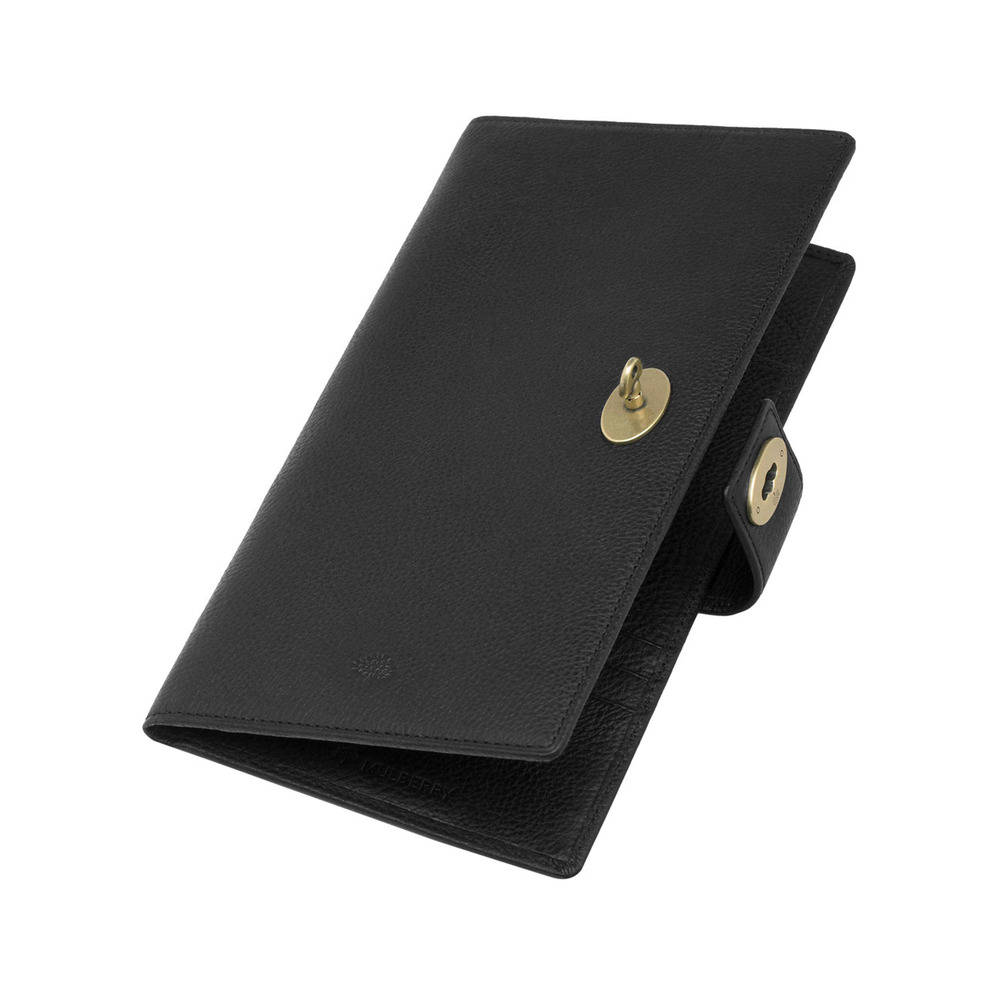 61b7dc2a6eaab Lyst - Mulberry Womens Travel Wallet in Black for Men