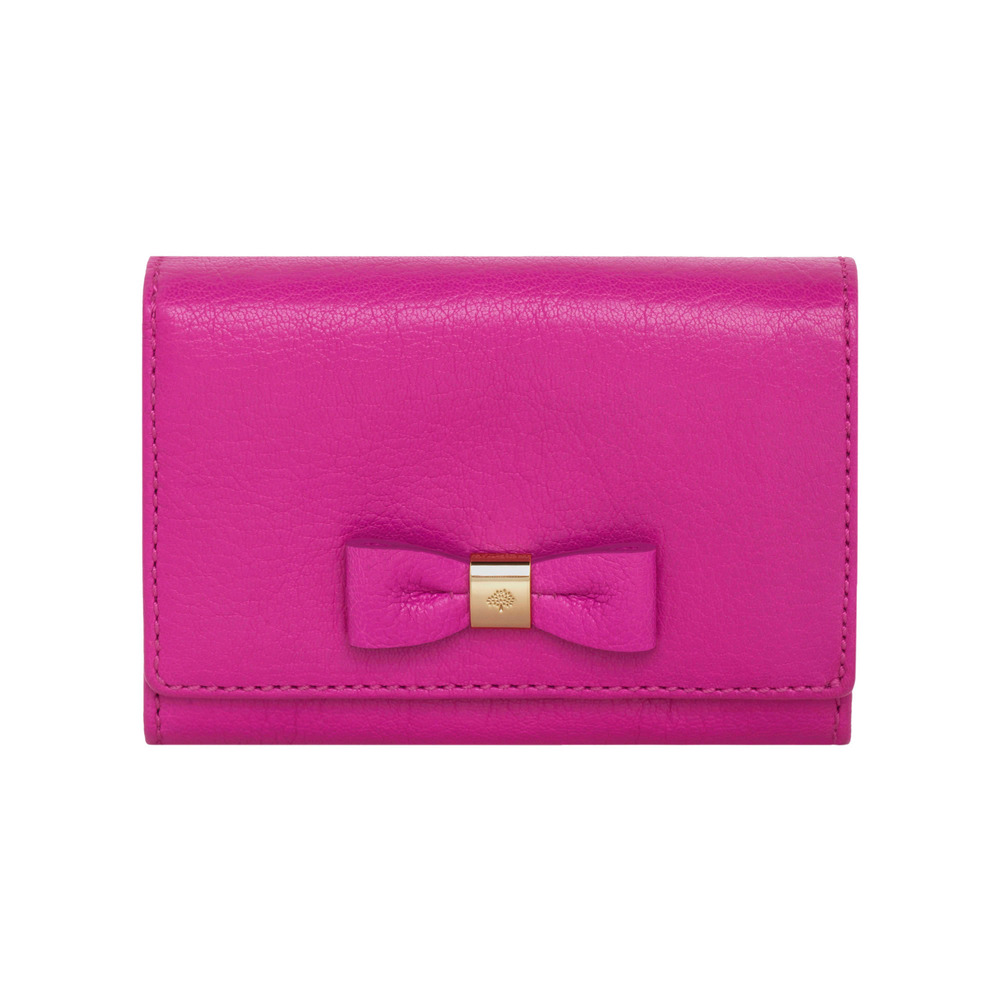Lyst - Mulberry Bow French Purse in Pink