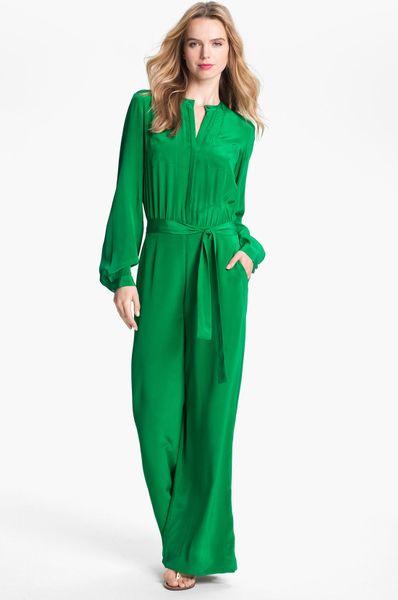 Original Bright Green Jumpsuit Sleeveless Jumpsuits Women Wrap By Dresslike