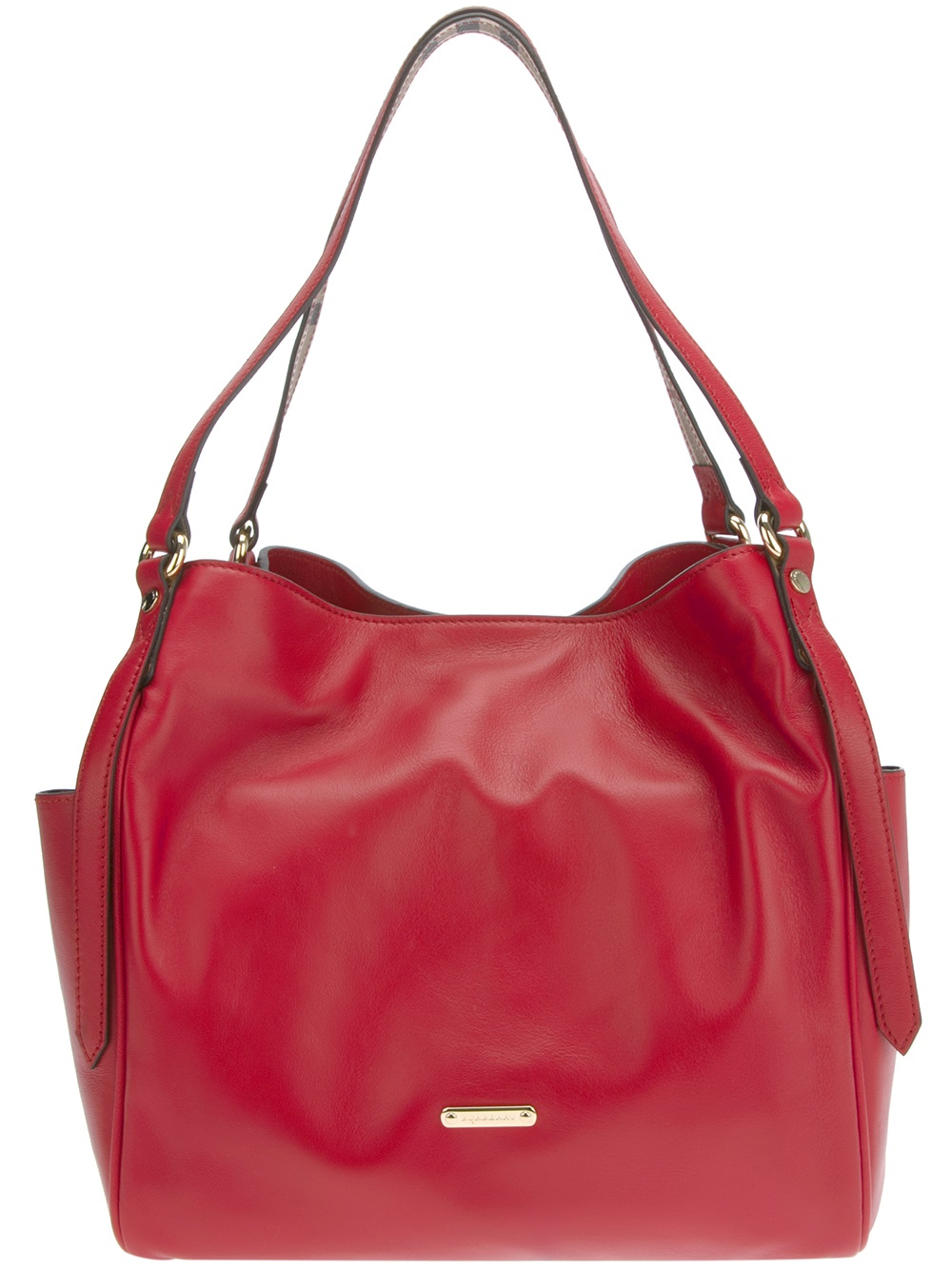 3ba334f3d058 Burberry Canterbury Tote in Red - Lyst