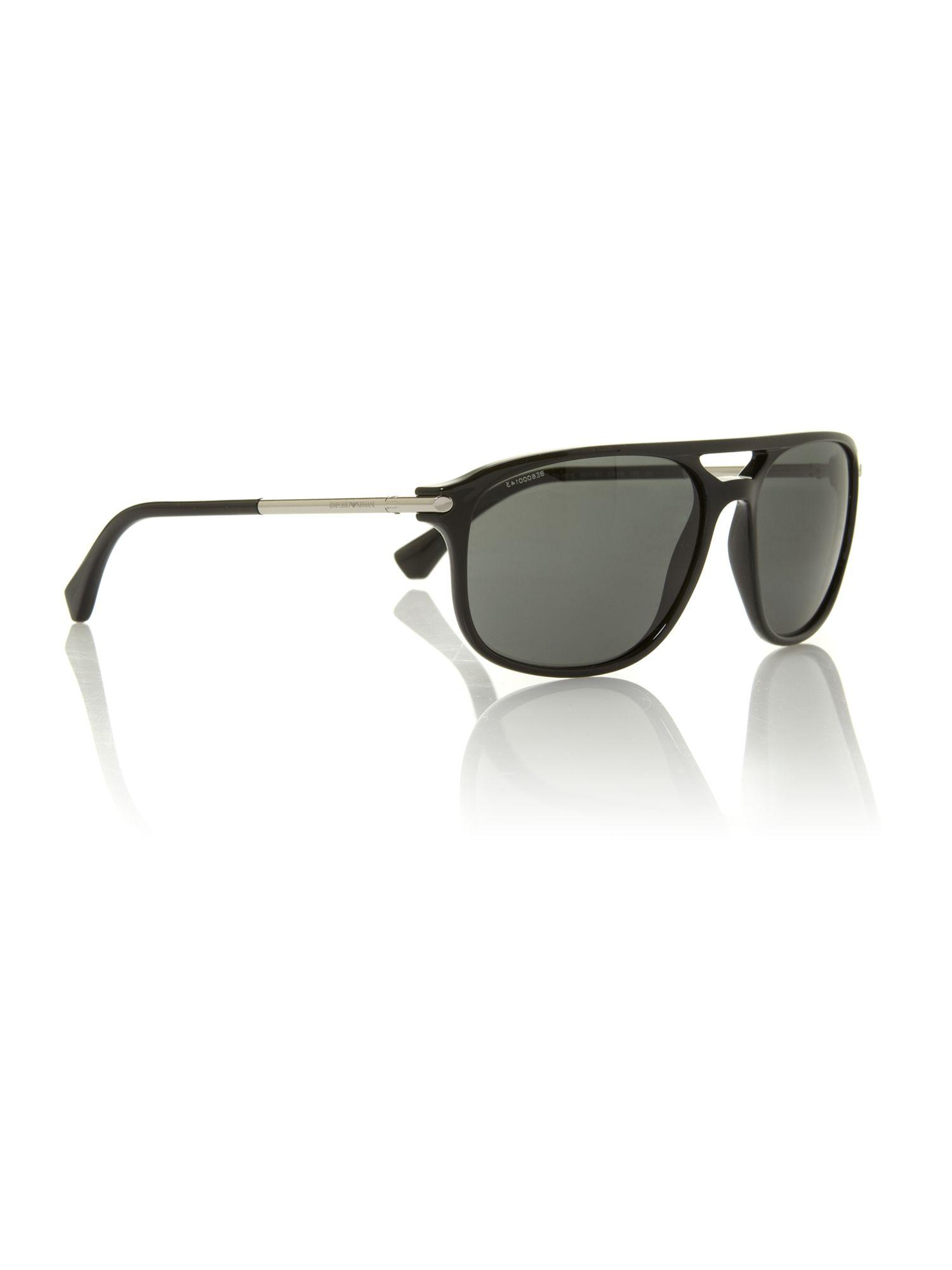 81e638f8cb0 Emporio Armani Men s Sunglasses Black - Bitterroot Public Library