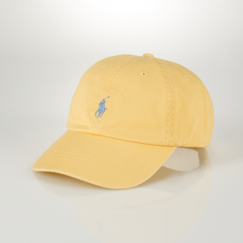 Lyst - Polo Ralph Lauren Signature Pony Hat in Yellow for Men 32a31f1c0a7