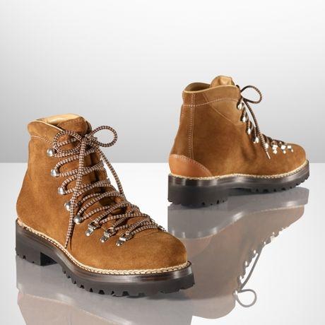 Ralph Lauren Fidel Ii Suede Boot In Brown For Men Lyst