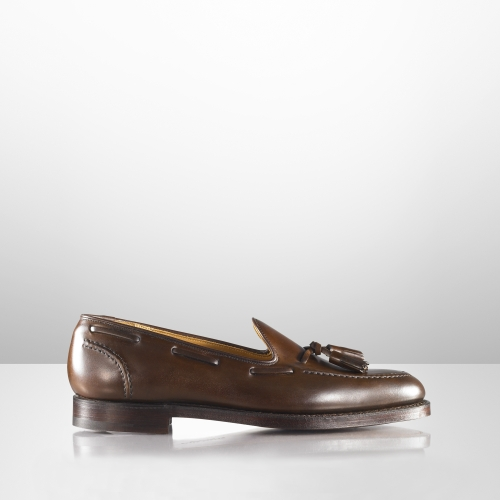 8ca58d3c7d8 Lyst - Ralph Lauren Marlow Tassel Loafer in Brown for Men
