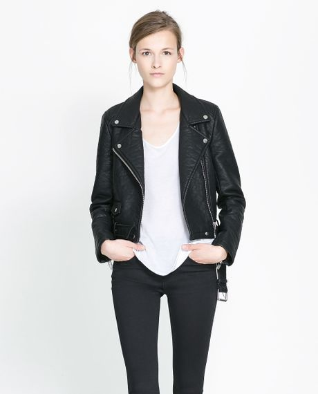 Zara Leather Jacket 16