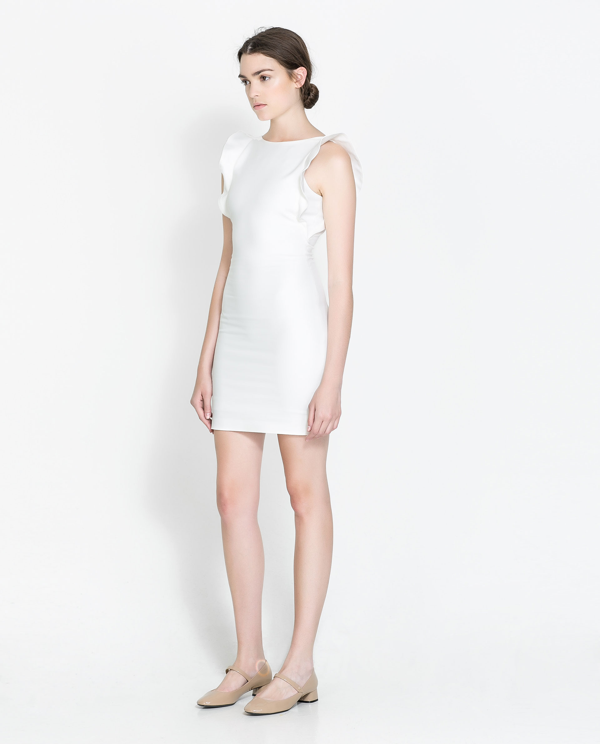 Brilliant LACE DRESS  Mini  Dresses  WOMAN  SALE  ZARA United States
