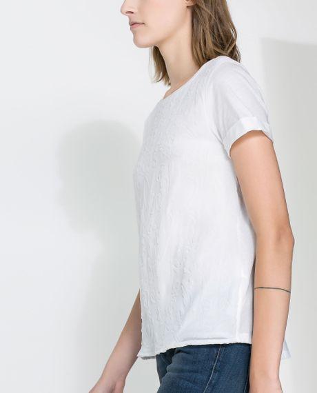 Zara Ruffle Sleeve Blouse 49
