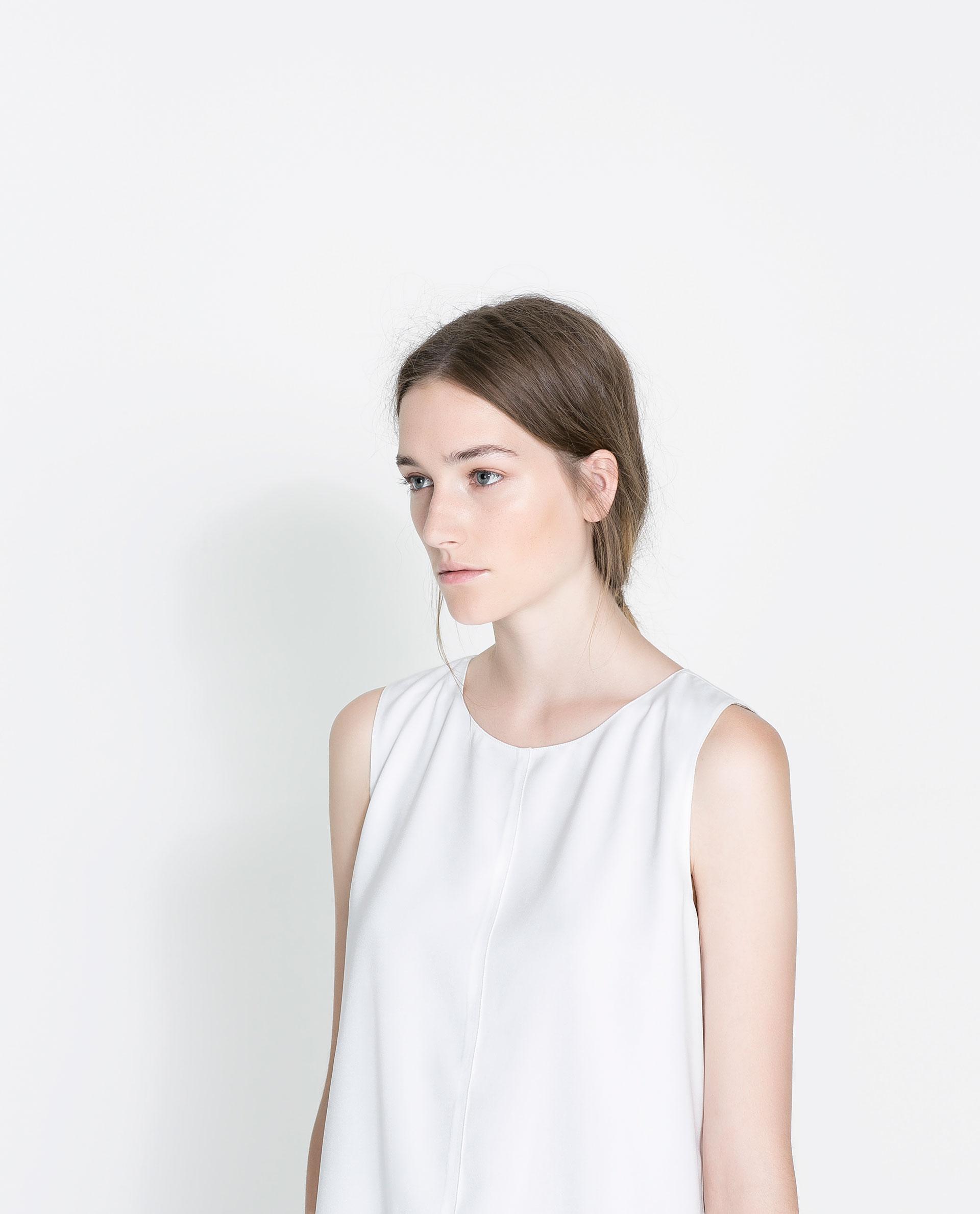 Zara Sleeveless Blouse 20