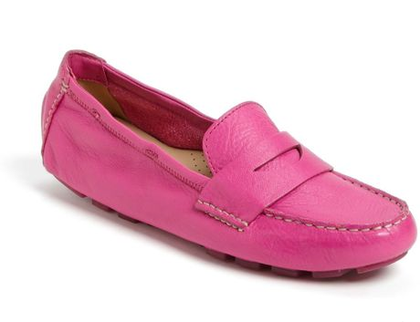 Cole Haan Sadie Deconstructed Moccasin in Pink (Orchid)