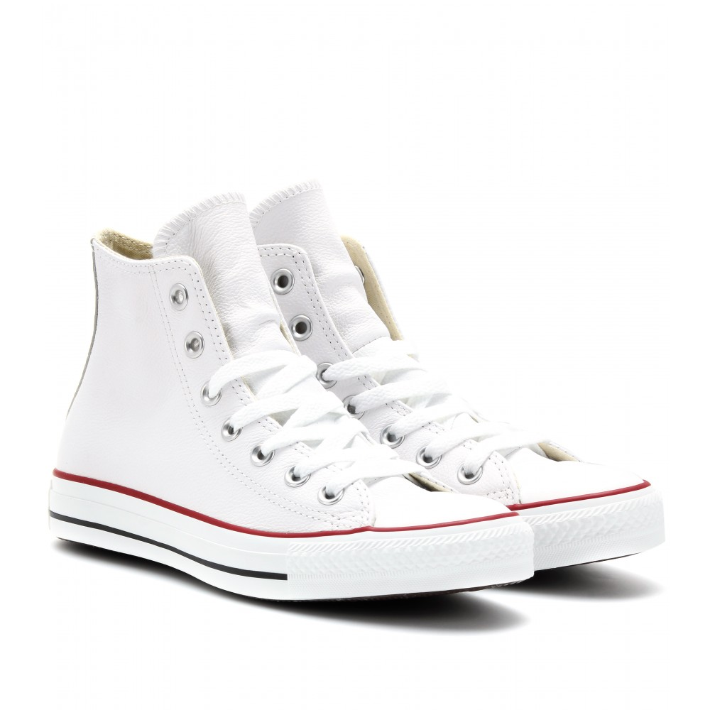 Converse Chuck Taylor All Star Leather Hightop Sneakers in ...