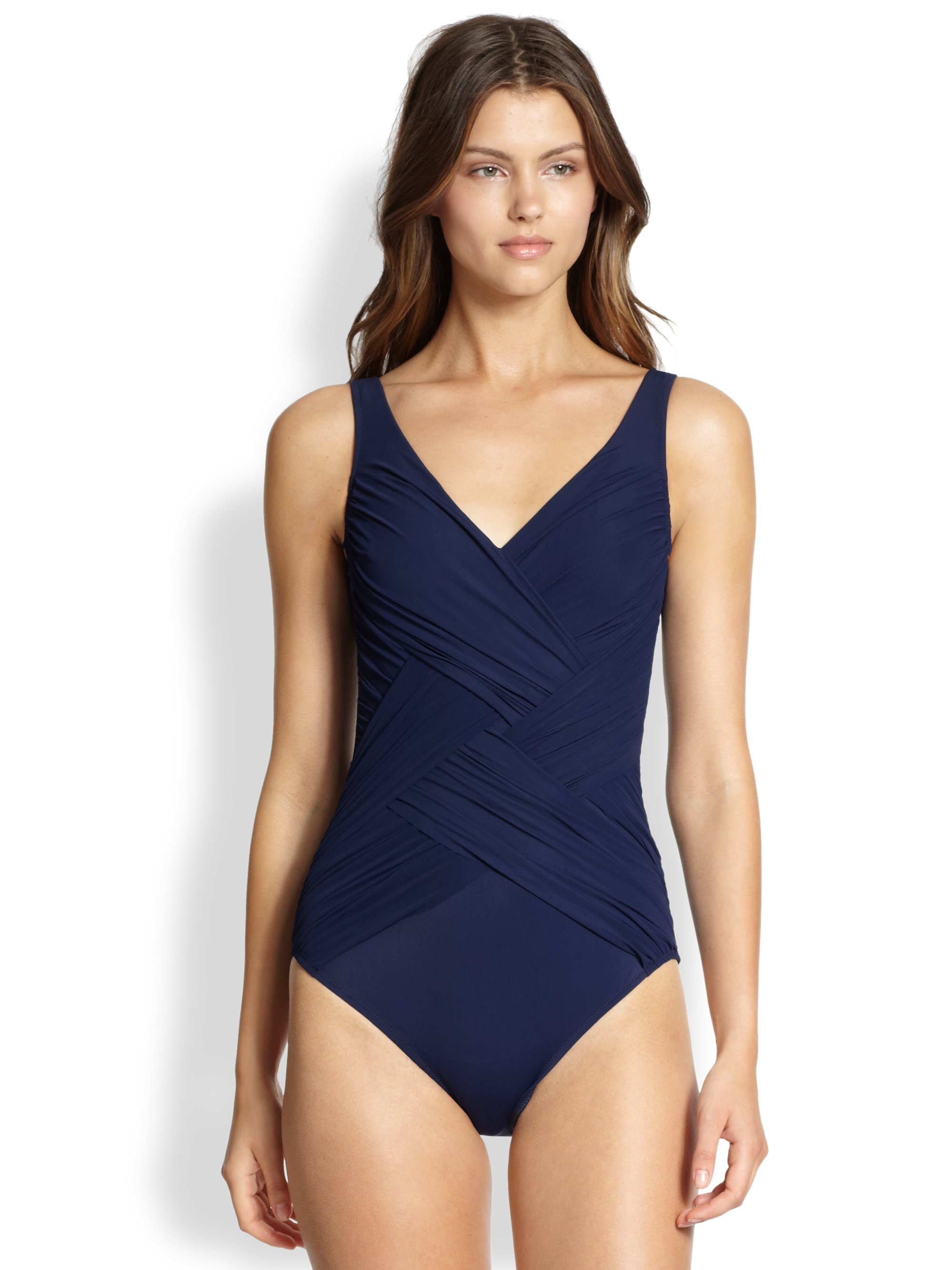 873de14ed4b12 Gottex swim dark navy onepiece chrystalis swimsuit product jpg 2000x2667 Bathing  suit navy