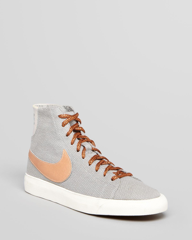 france orange silver womens nike blazer high shoes 163c7 e3ac6