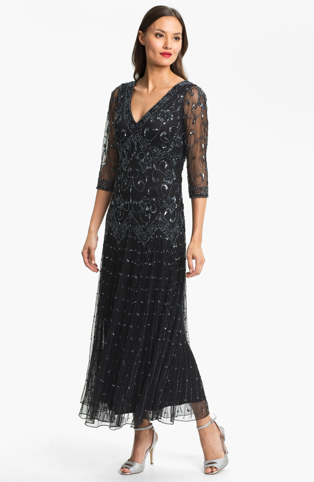 Find great deals on eBay for pisarro nights beaded mesh dress. Shop with confidence.