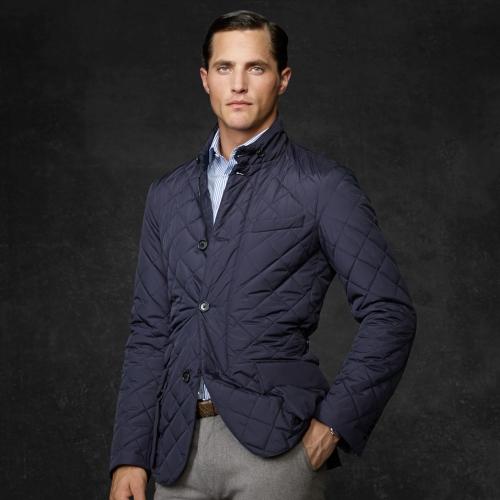 Lyst - Ralph lauren purple label Quilted Anderson Sport Coat in ... : mens quilted sport coat - Adamdwight.com
