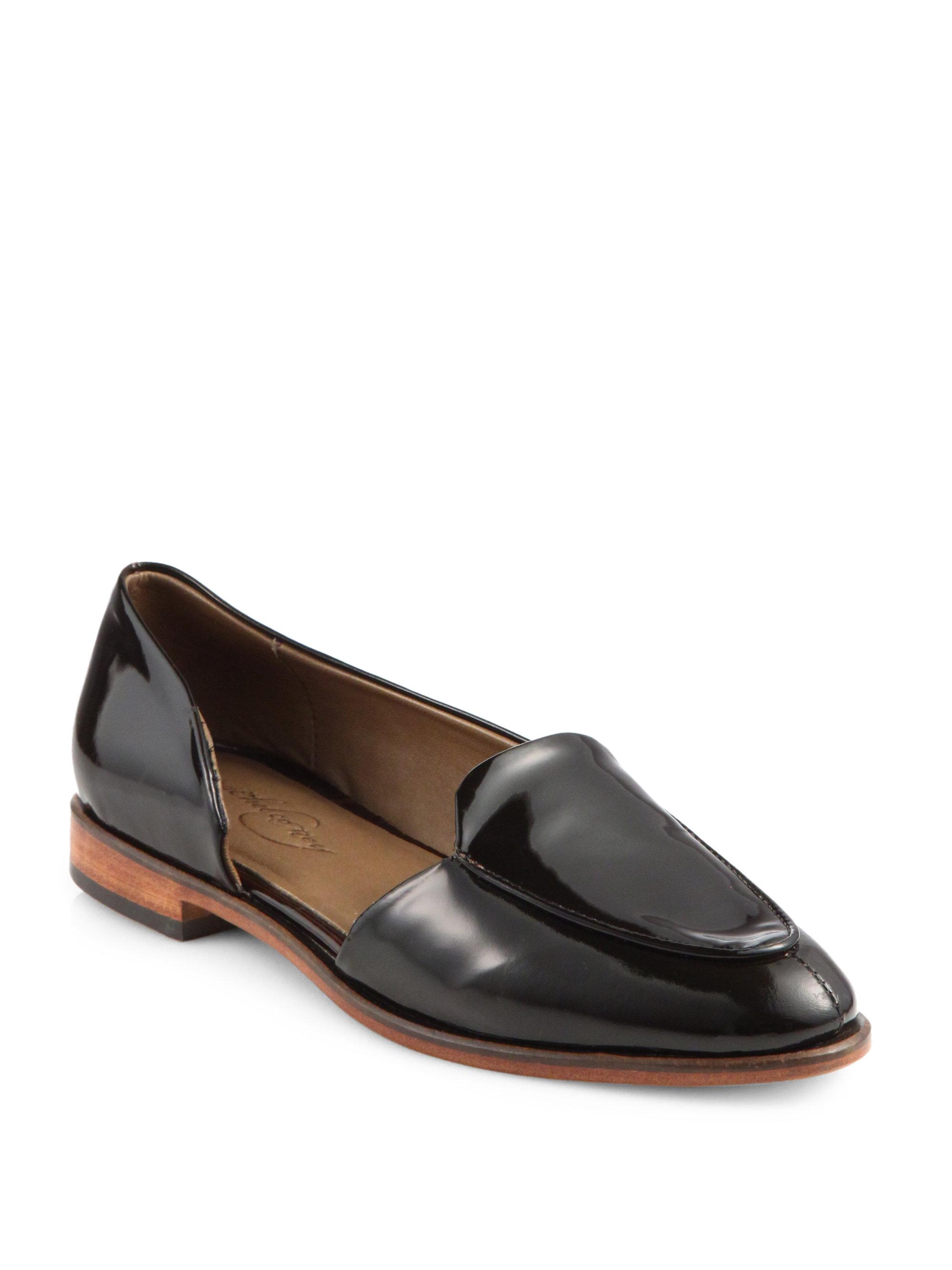 Patent Almond Toe Shoes