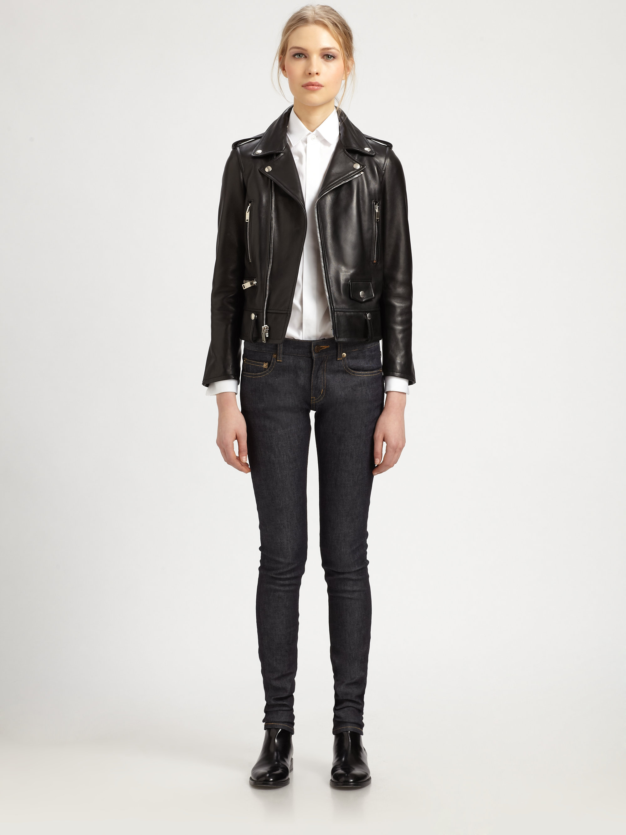 Leather motorcycle jackets for women fashion 39