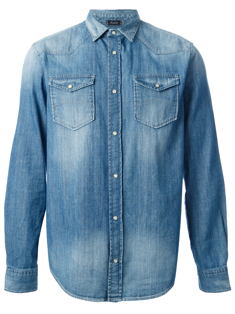Buy Cheap 100% Guaranteed DENIM - Denim shirts Armani Free Shipping Eastbay Limited Edition Sale Online Sale 2018 With Mastercard ILCM40