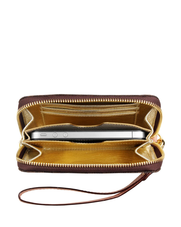 7af842015567 michael kors wallet clutch case for iphone 4s