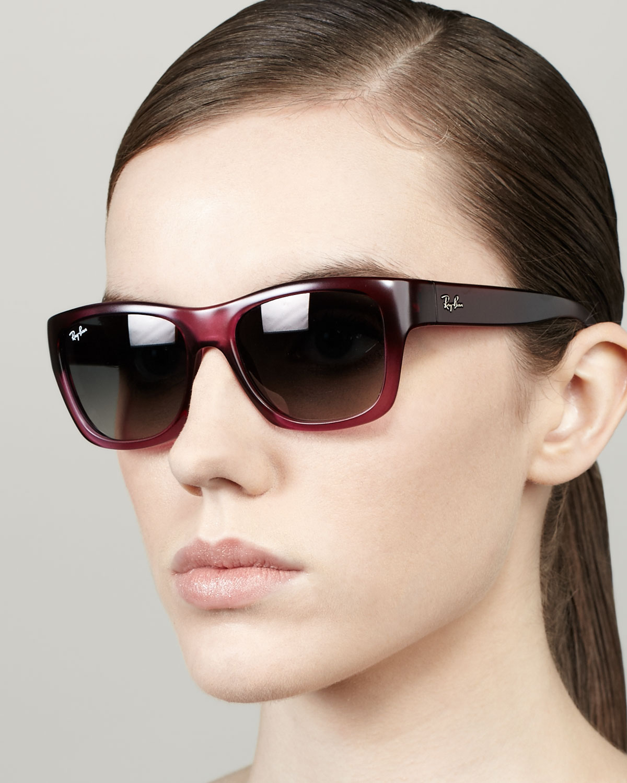Old Highstreet Lyst Ray Ban Sunglasses Pink Rectangular In 3lF1JTKc