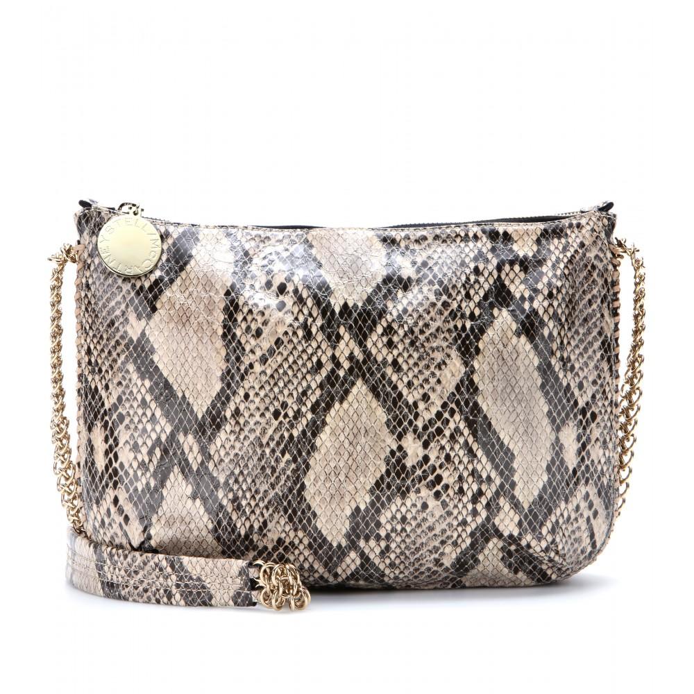 e94a8a7146 Lyst - Stella McCartney Bailey Boo Snakeprint Cross Body Bag