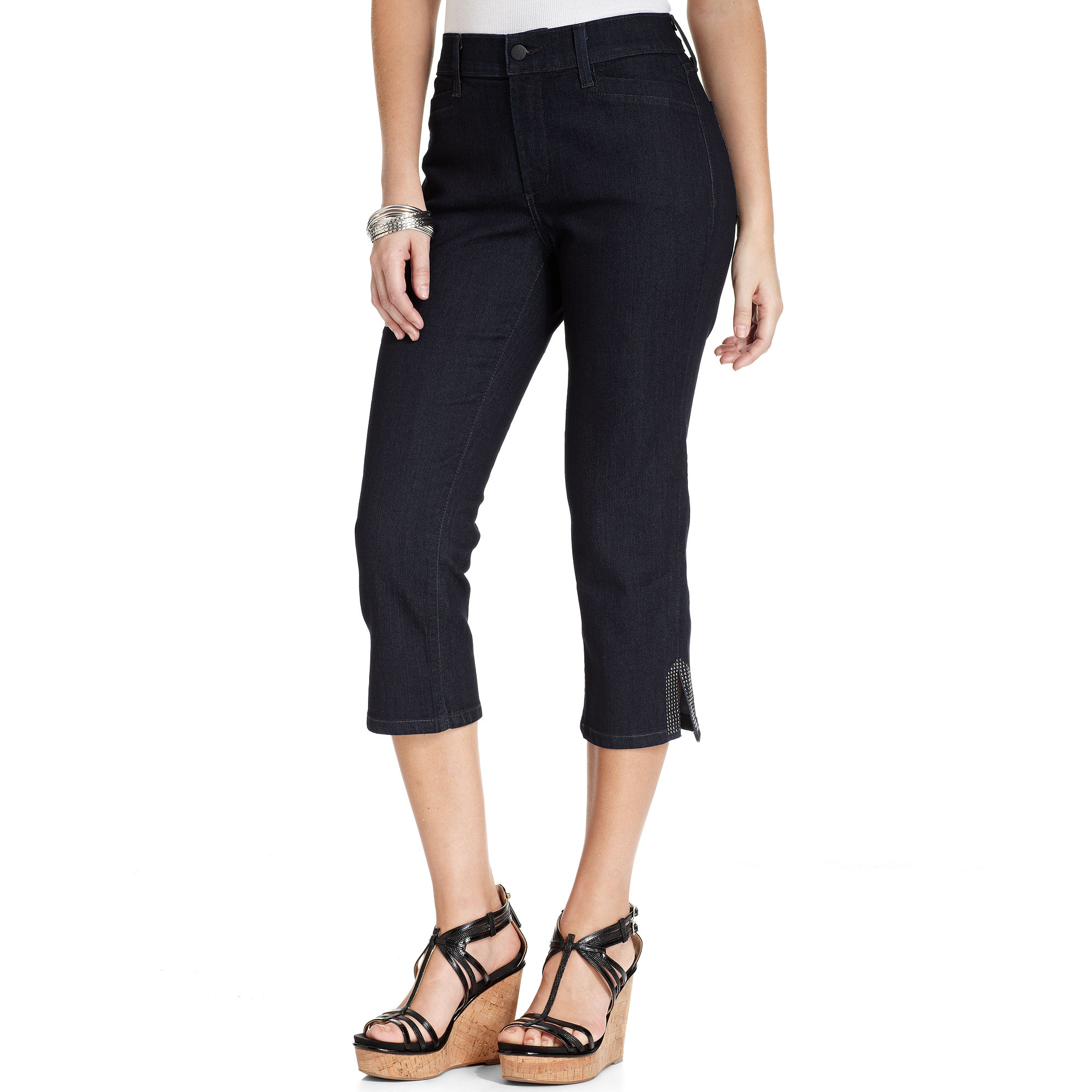 lyst not your daughter 39 s jeans nydj jeans suzy skinny. Black Bedroom Furniture Sets. Home Design Ideas