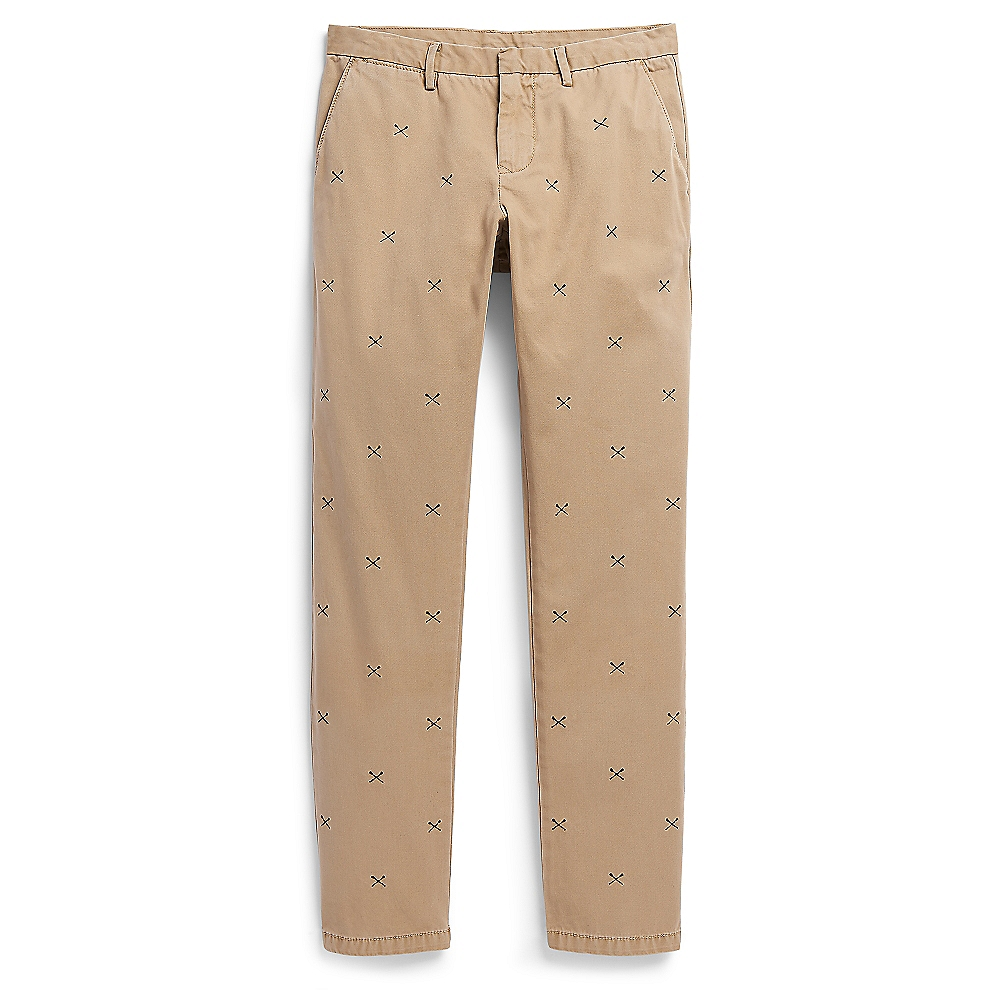 tommy hilfiger embroidered paddle mercer chino twill pant. Black Bedroom Furniture Sets. Home Design Ideas
