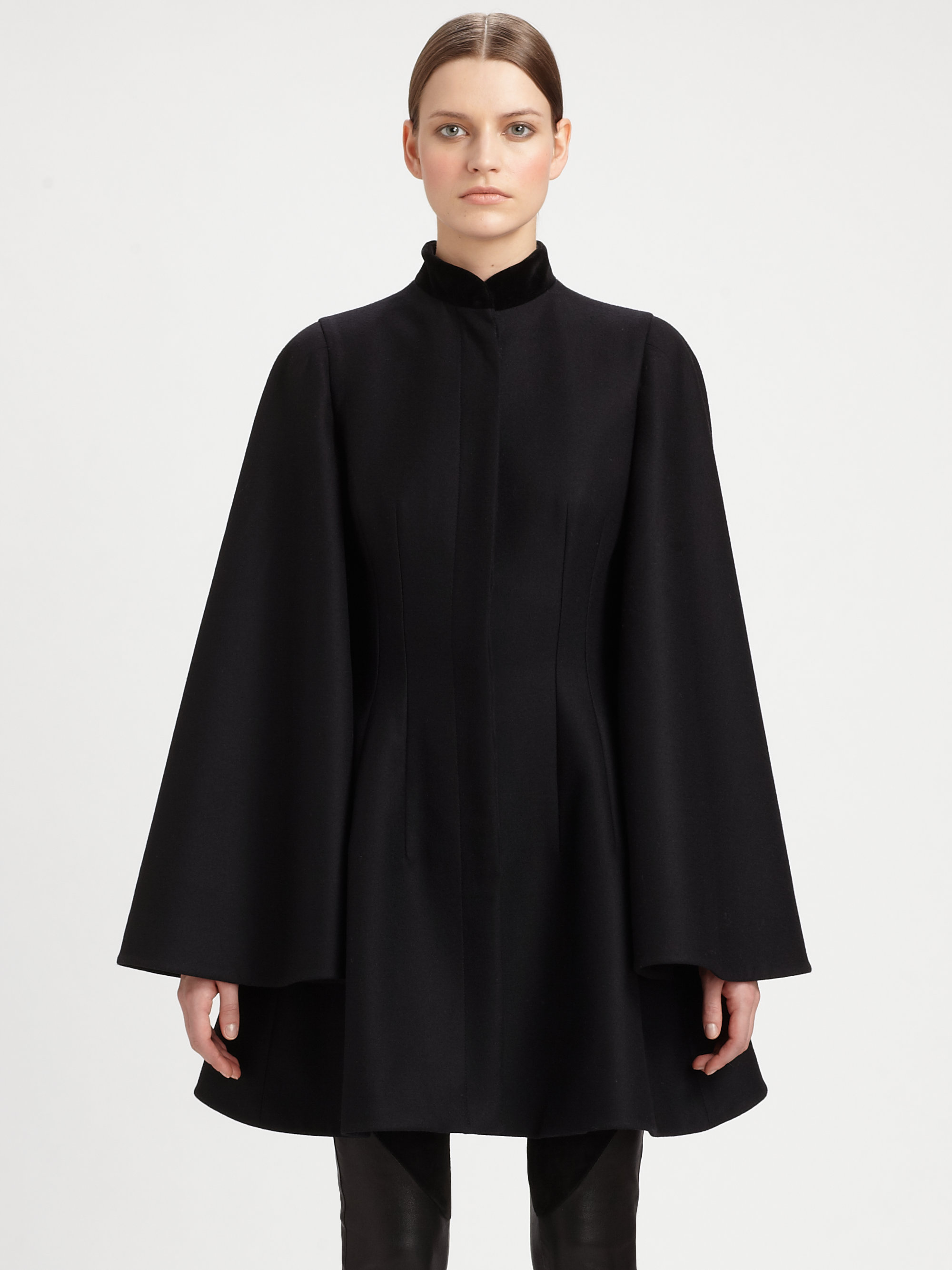 Find black cape jacket at ShopStyle. Shop the latest collection of black cape jacket from the most popular stores - all in one place.