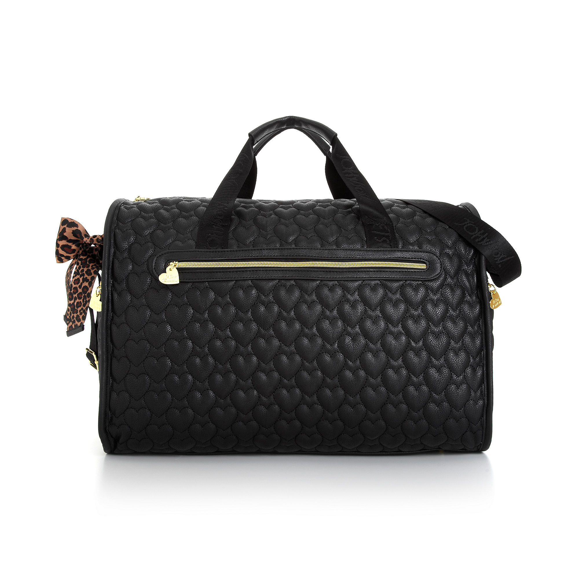 Lyst Betsey Johnson Quilted Weekender In Black
