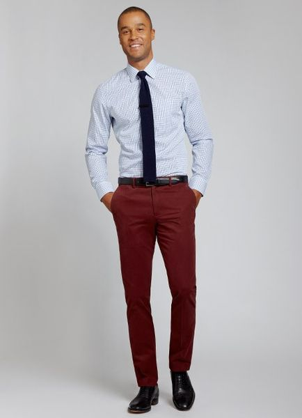 Levi Pants Style Size 31x32 Mens Brand New Red Burgundy Maroon slim straight Please look at images for condition and quality and ask for more images if need and.
