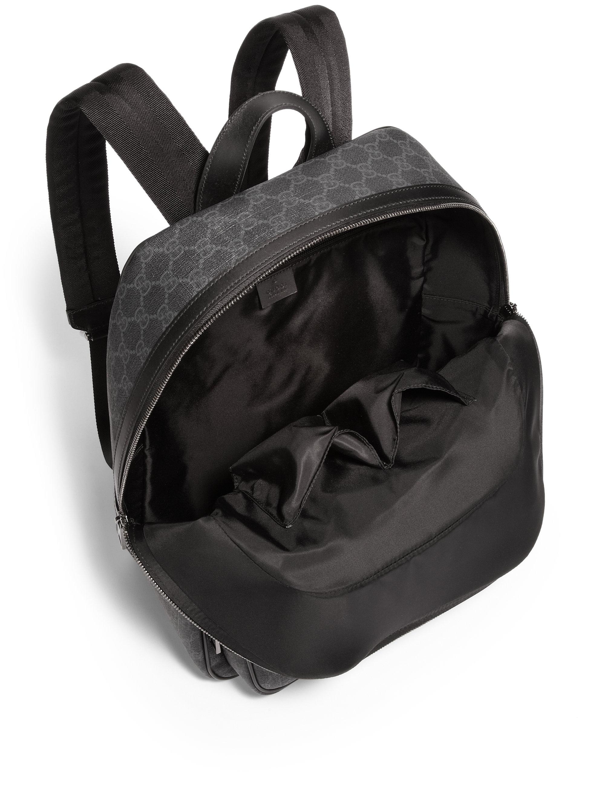 12459da7e407e1 All Black Gucci Backpack- Fenix Toulouse Handball