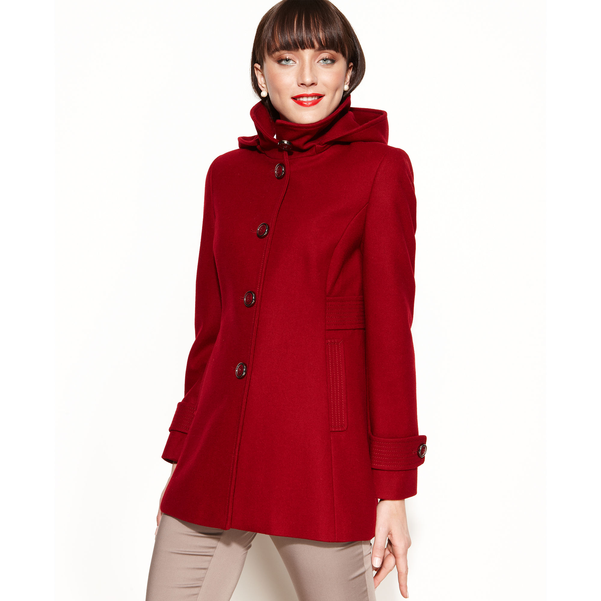 Macys Womens Wool Coats Photo Album - Reikian