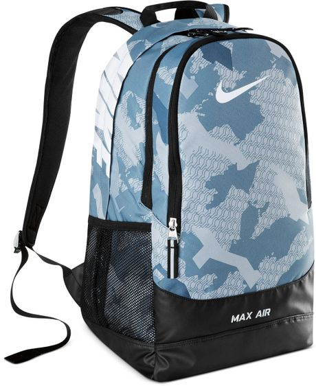 100% authentic 422bb e505e ... Nike Team Training Max Air Large Graphic Backpack in Gray .
