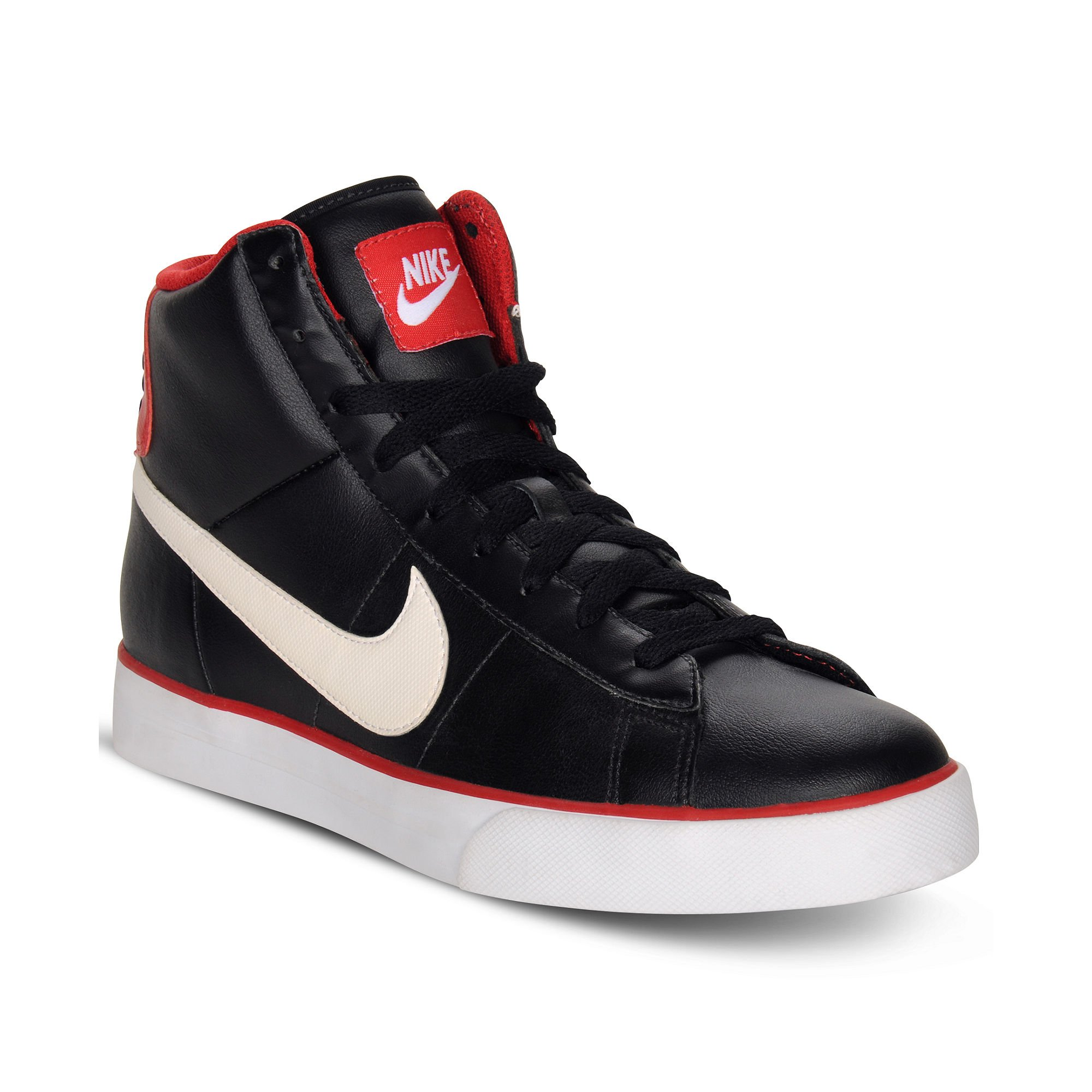 fd973d43b Lyst - Nike Sweet Classic Leather High Top Sneakers in Black for Men