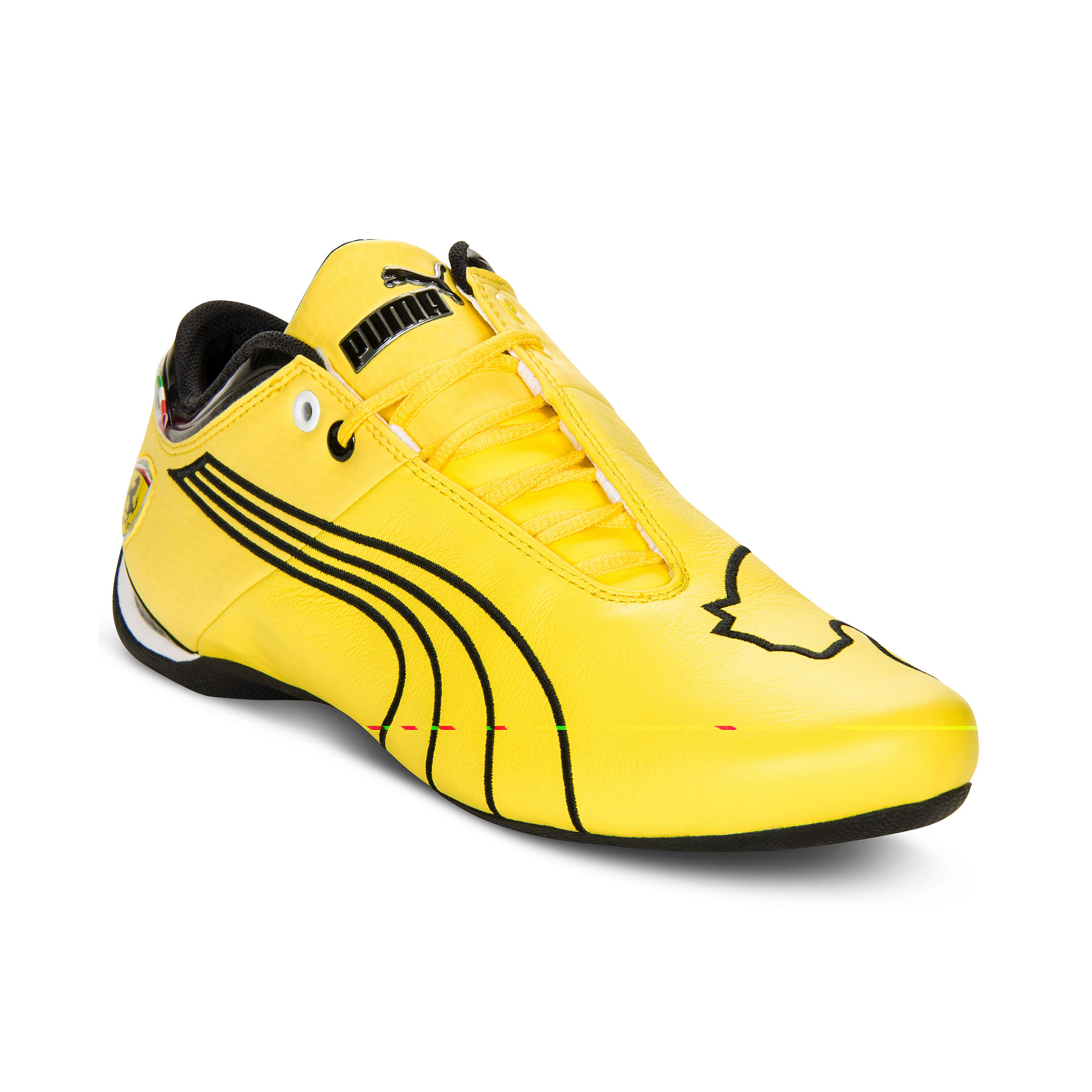 Black And Yellow Designer Shoes