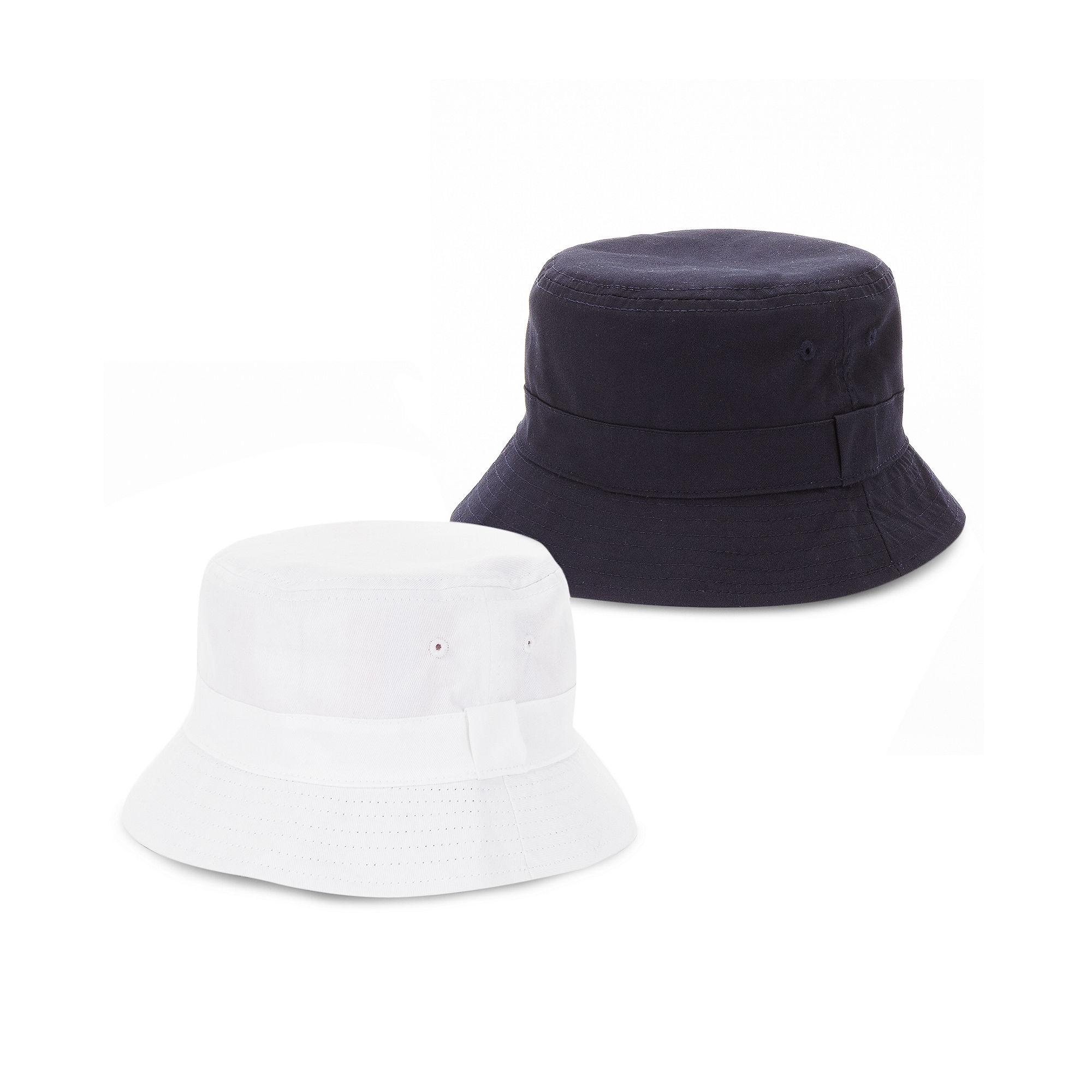 ca288770230 Lyst - Sean John Plaid Reversible Bucket Hat in White for Men