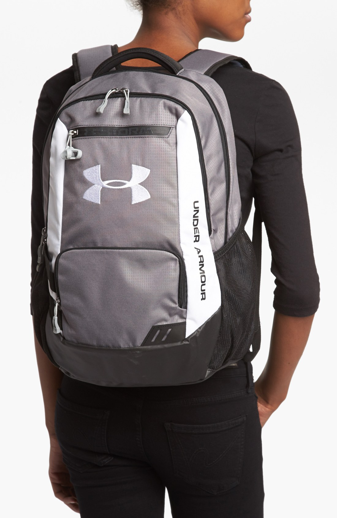 b2695ac7285d Under armour Hustle Backpack in Gray Lyst