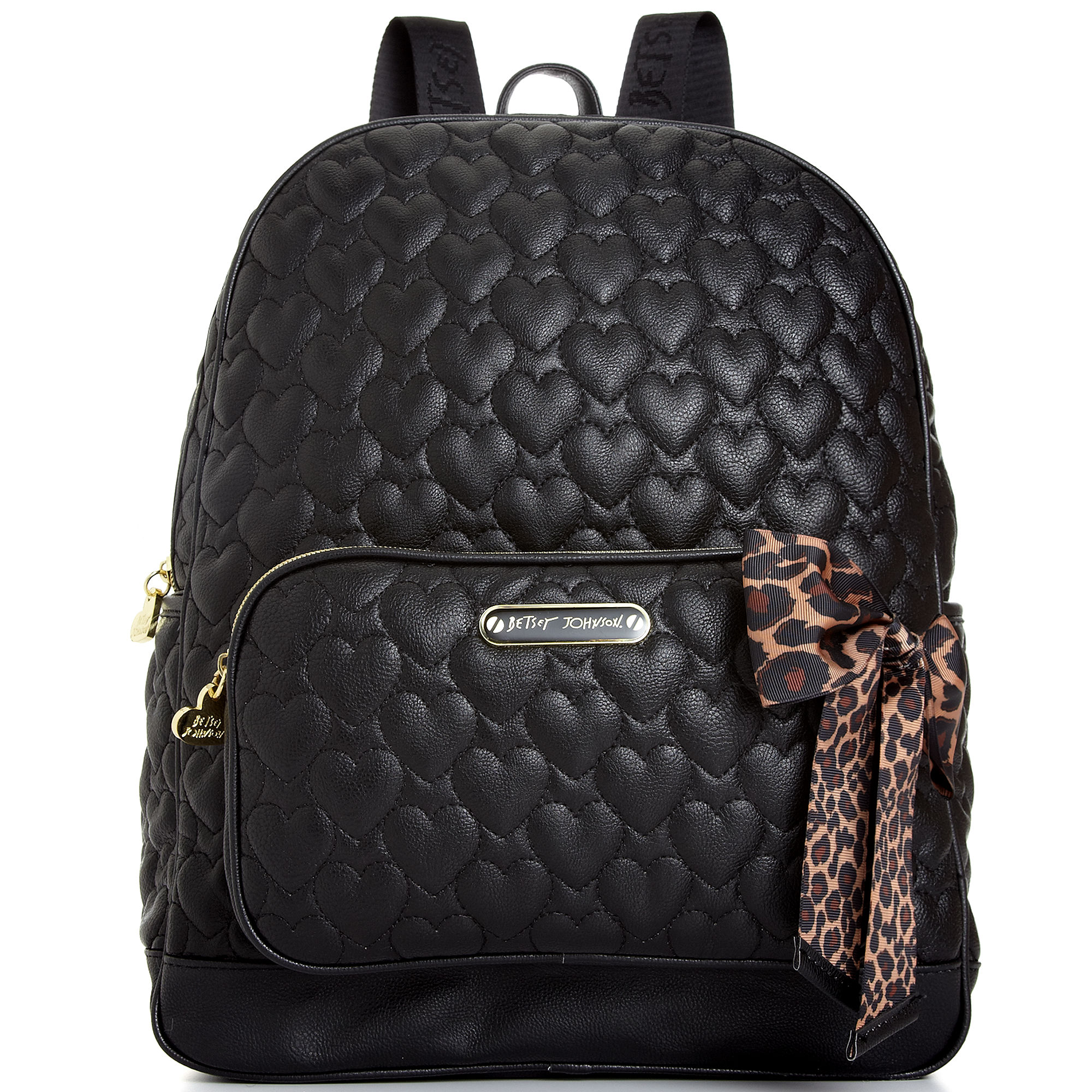 Betsey Johnson Quilted Backpack In Black Lyst