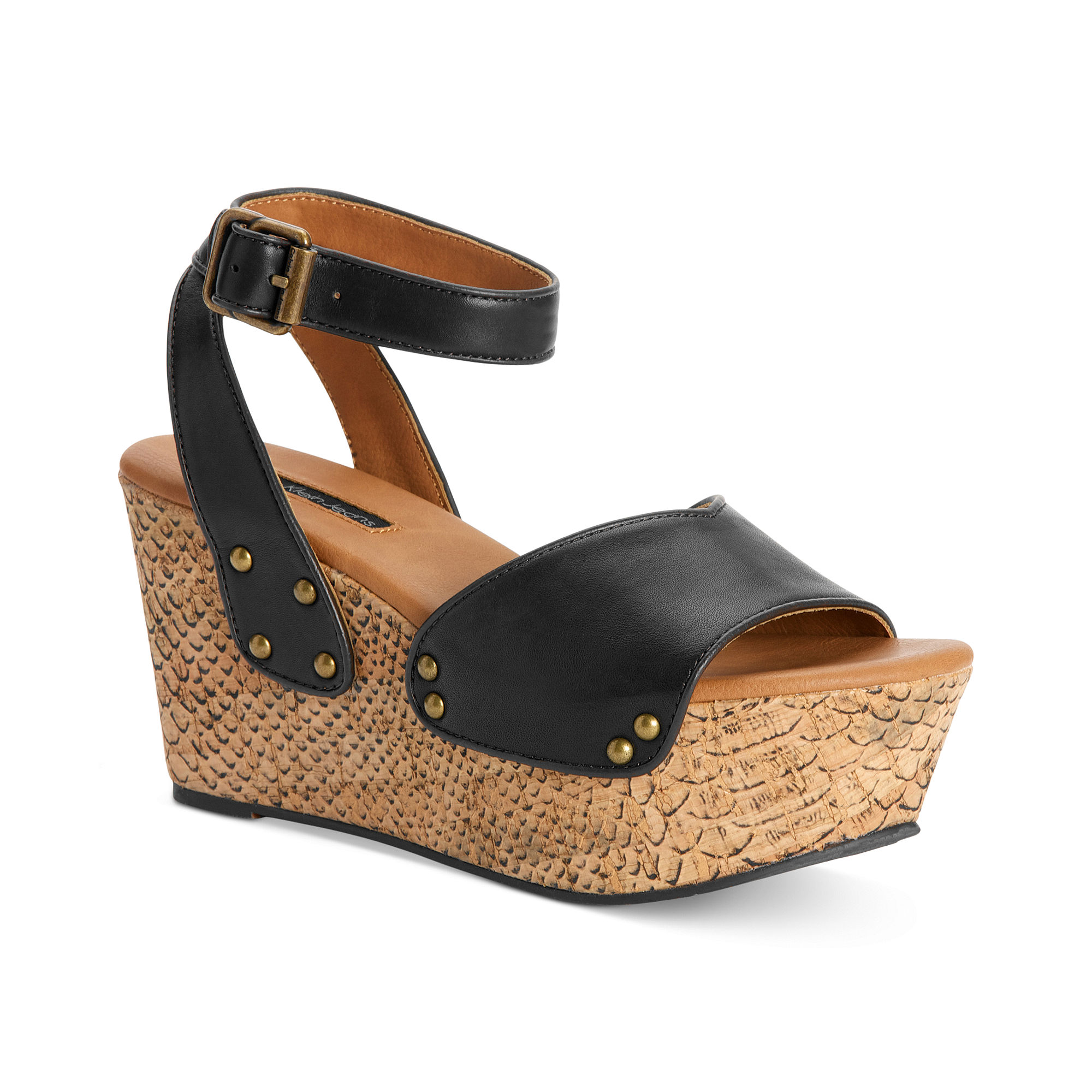 Calvin klein Ck Jeans Womens Shoes Calla Platform Wedge ...