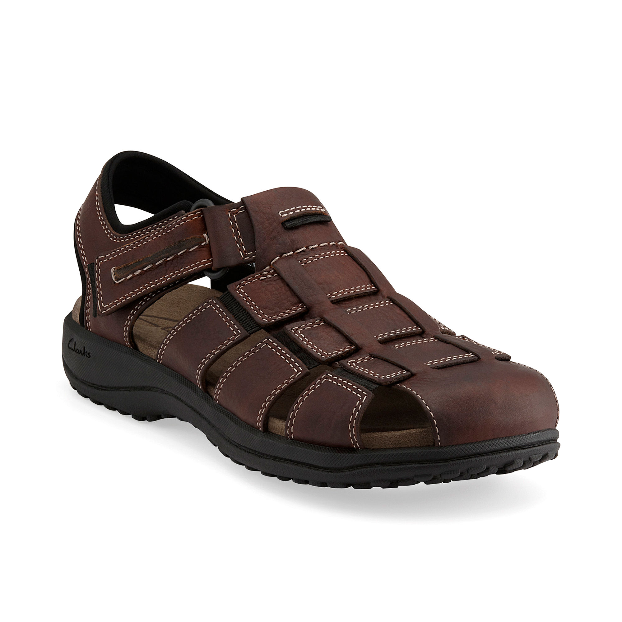 4722996037e0 Lyst - Clarks Men s Jensen Fisherman Sandals in Brown for Men