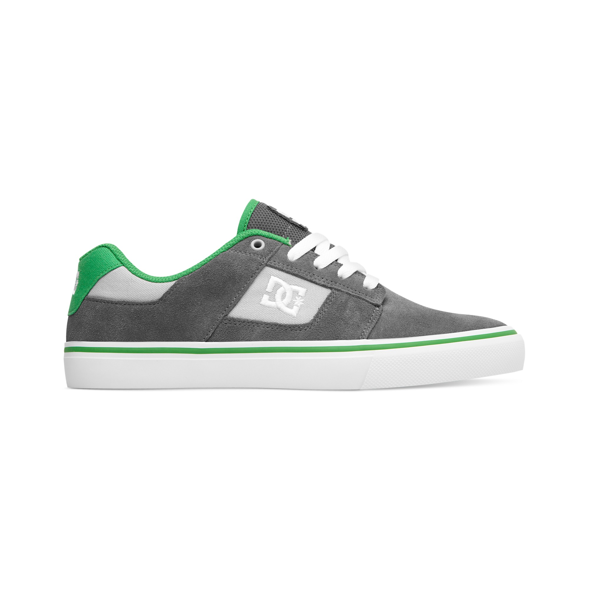 dc shoes for men low cut. dc shoes bridge sneakers in green for men lyst low cut