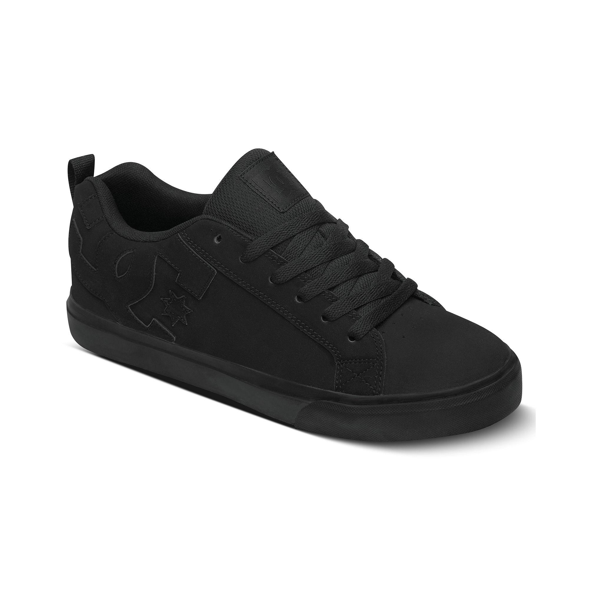 Macy S Vans Black Leather Mens Shoes