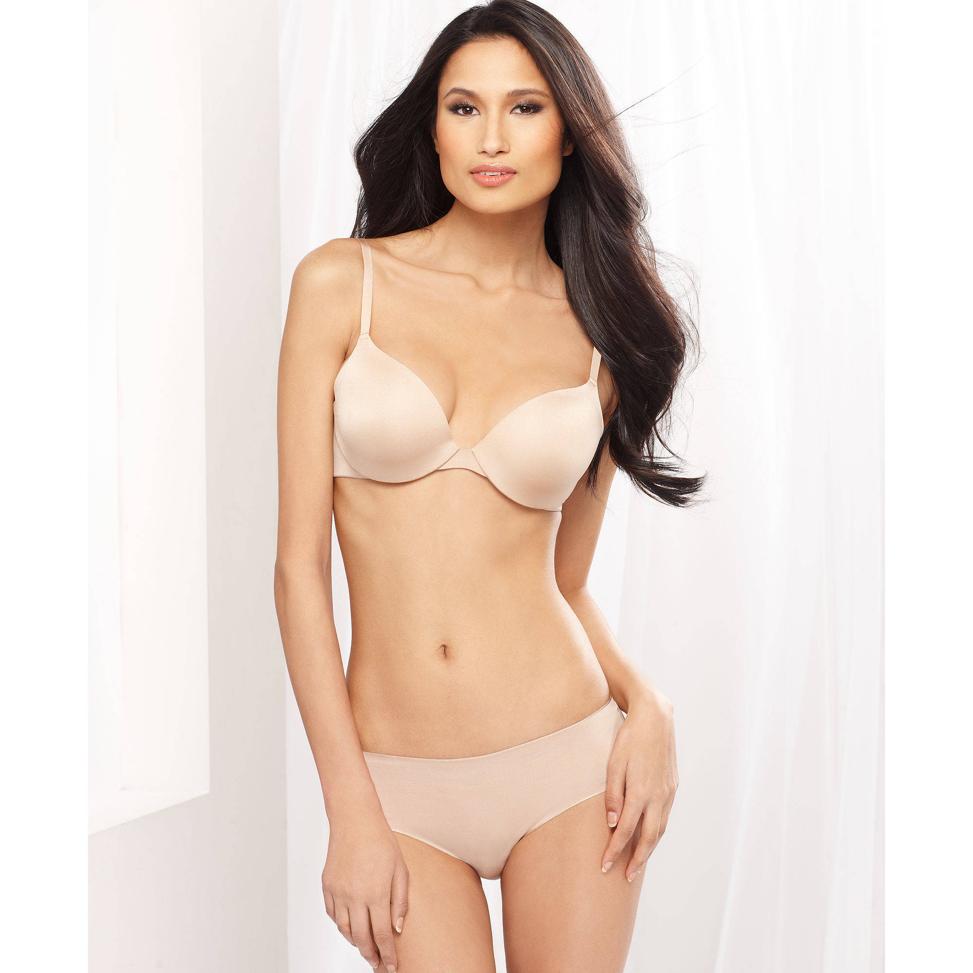 eb13adcd42919 Lyst - Felina Body Luxe Contour Bra in Natural