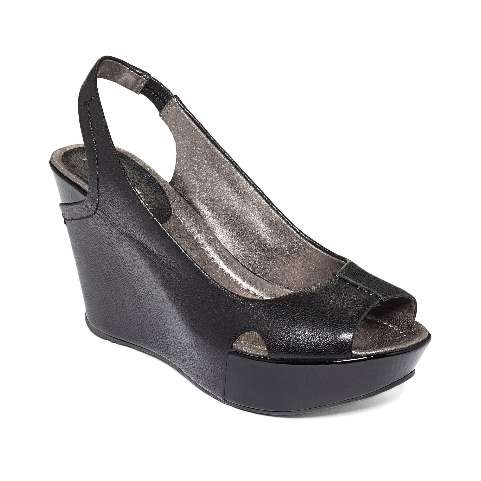Kenneth Cole Reaction Sole Envy Platform Wedge Sandals In
