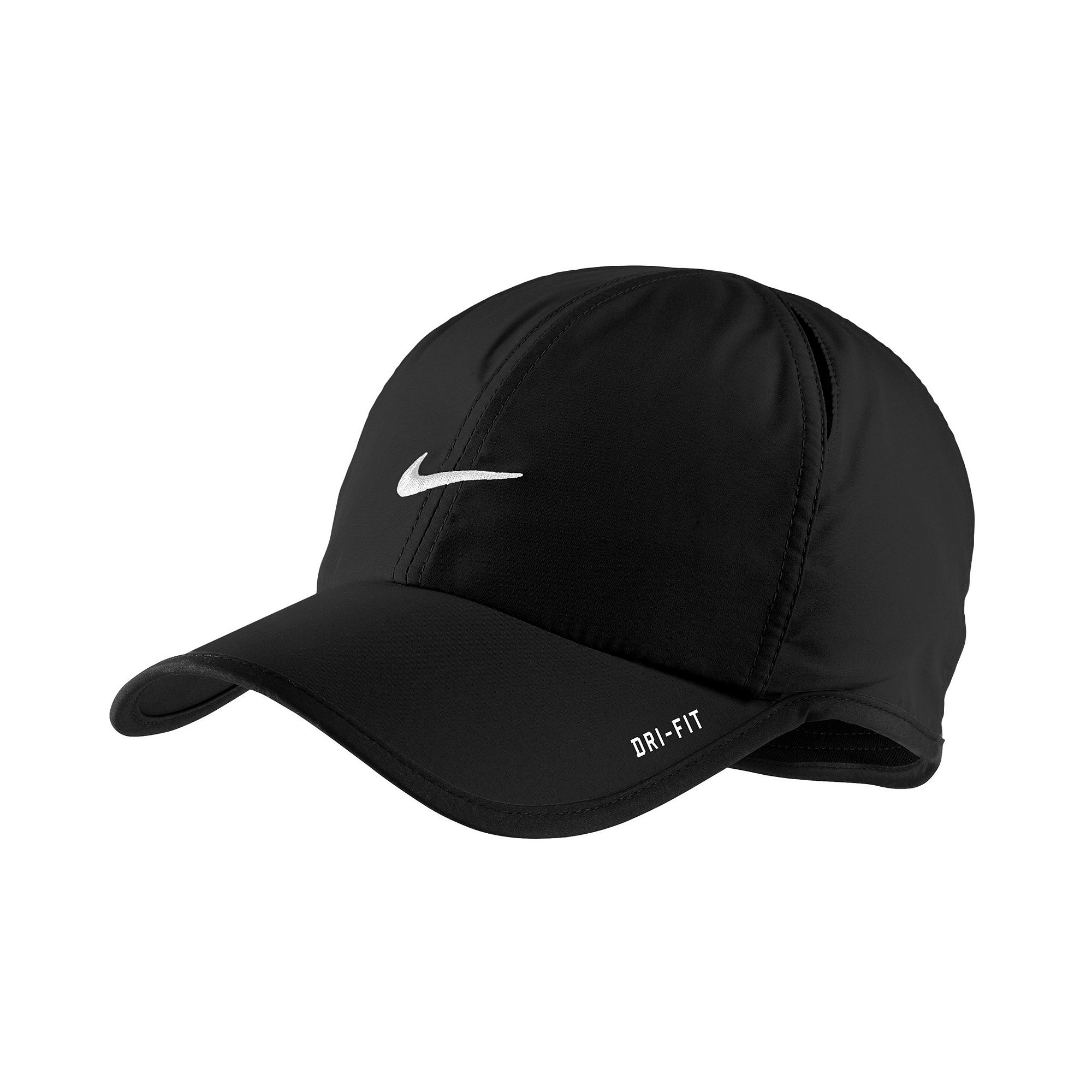 hot sale online 6c927 8f9bc ... usa lyst nike dri fit feather light cap in black for men 84194 7575b