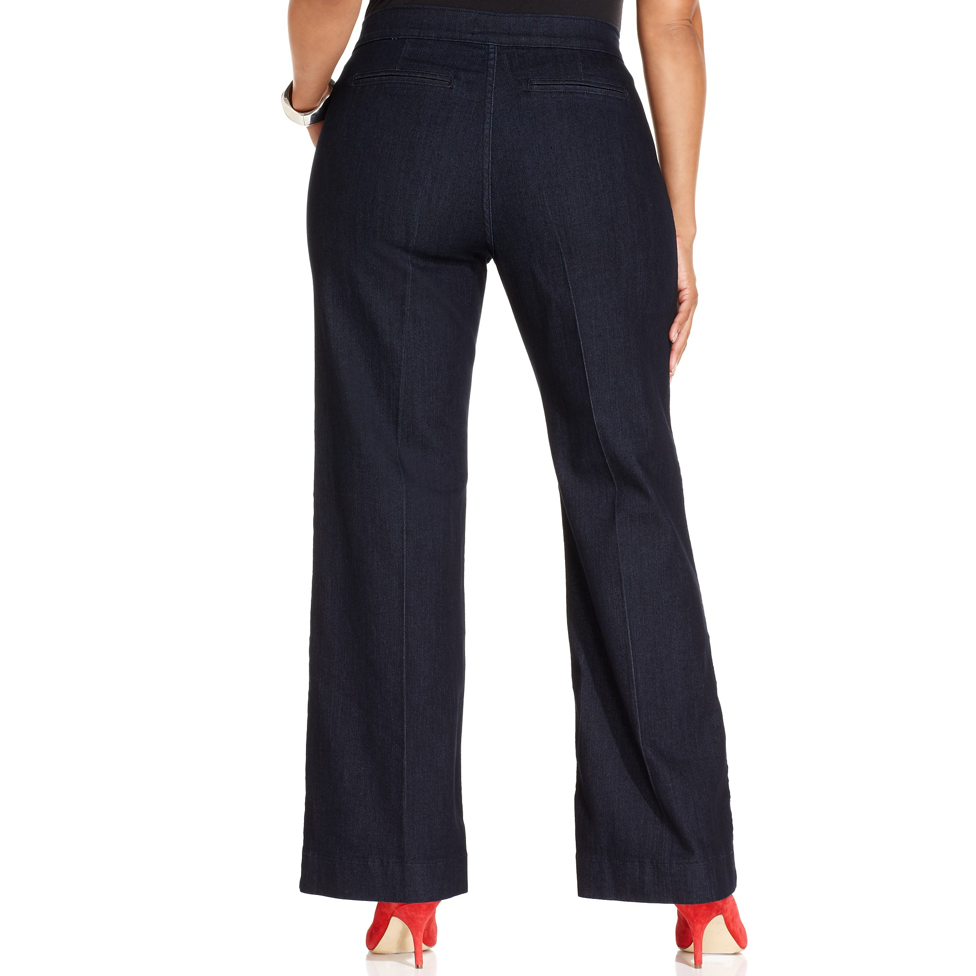 Women's Plus Size Denim Trouser $ 36 TwiinSisters. Women's High Rise Stretch Destroyed Ripped Color Skinny Pants Jeans Multi Styles. from $ 17 99 Prime. out of 5 stars Chic Classic Collection. Women's Plus Size Knit Pull-On Pant. from $ 19 99 Prime. out of 5 stars Pervobs Women Pants.