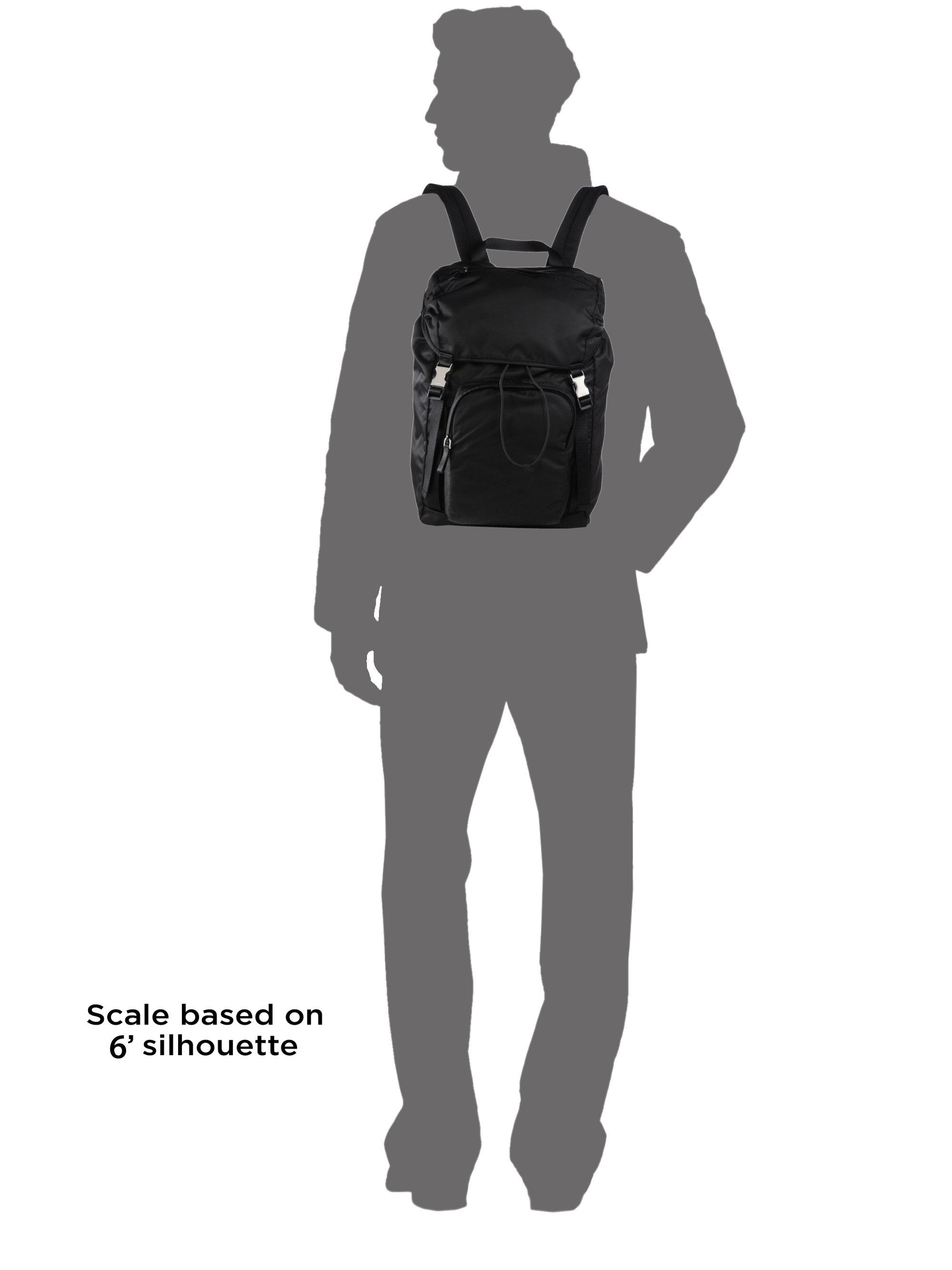 ea964b673750 Prada Nylon Backpack in Black for Men - Lyst