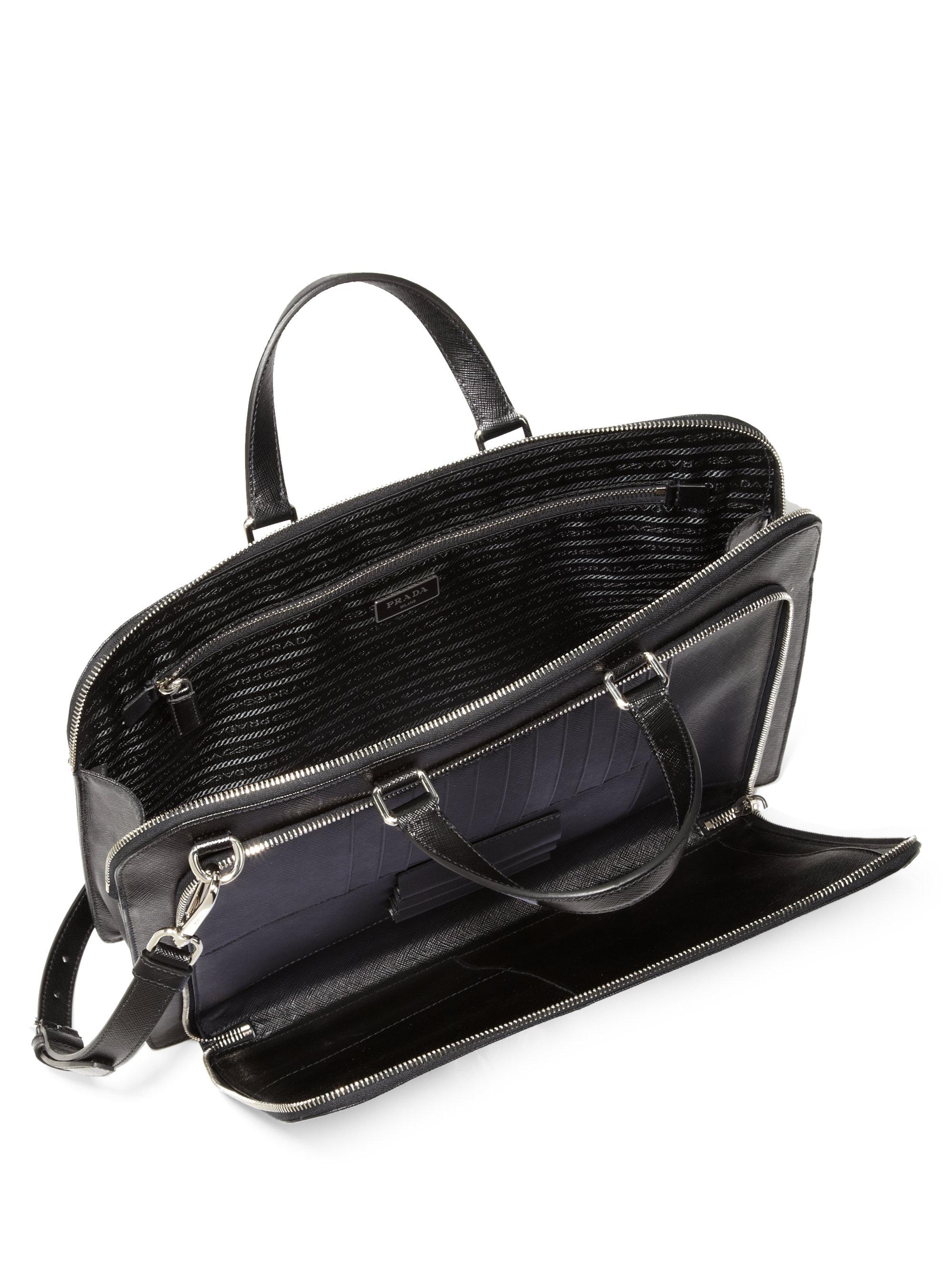 Prada Saffiano Travel Briefcase Prada Small Nylon Bag