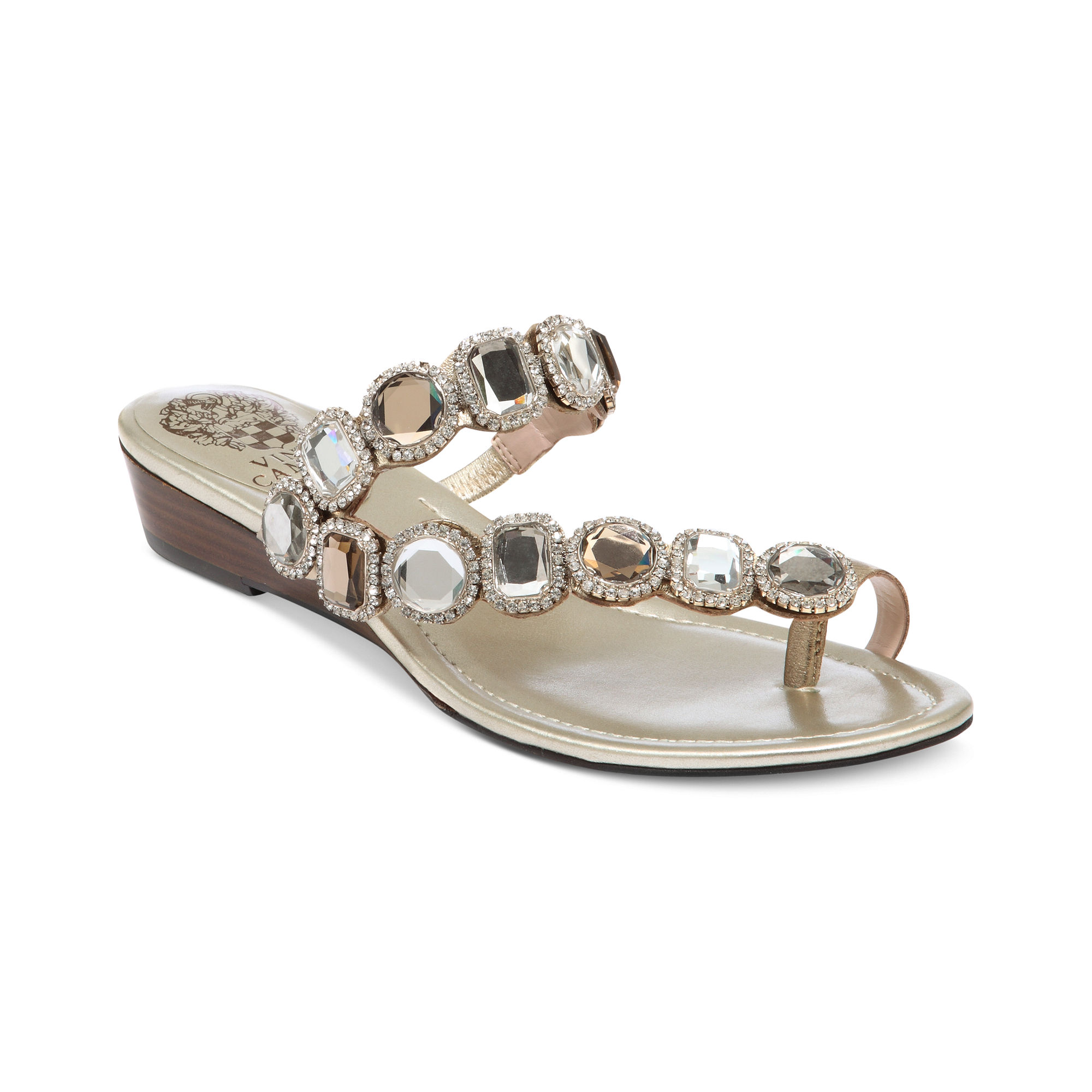 Lyst Vince Camuto Imanal Sandals In Metallic